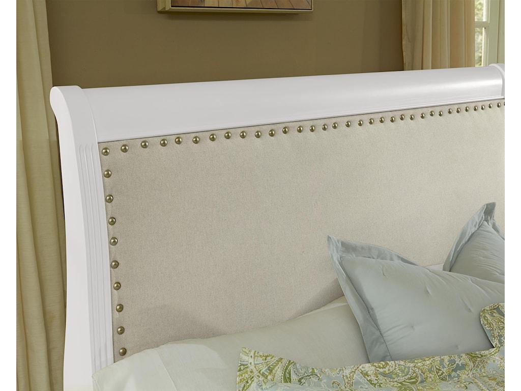 Vaughan Bassett French MarketKing Upholstered Headboard (Linen)