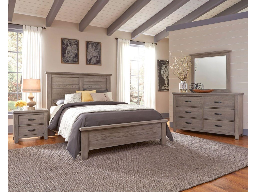Vaughan Bassett Cassell ParkKing Bedroom Group