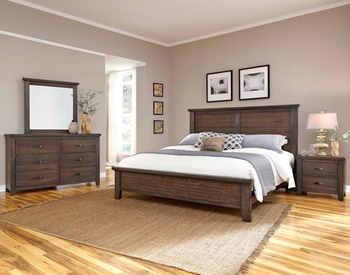 Vaughan Bassett Cassell Park King Bedroom Group