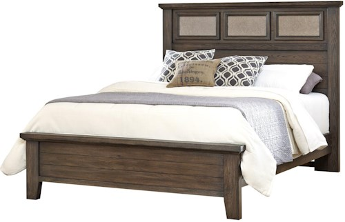 Vaughan Bassett Cassell Park King Tile Bed