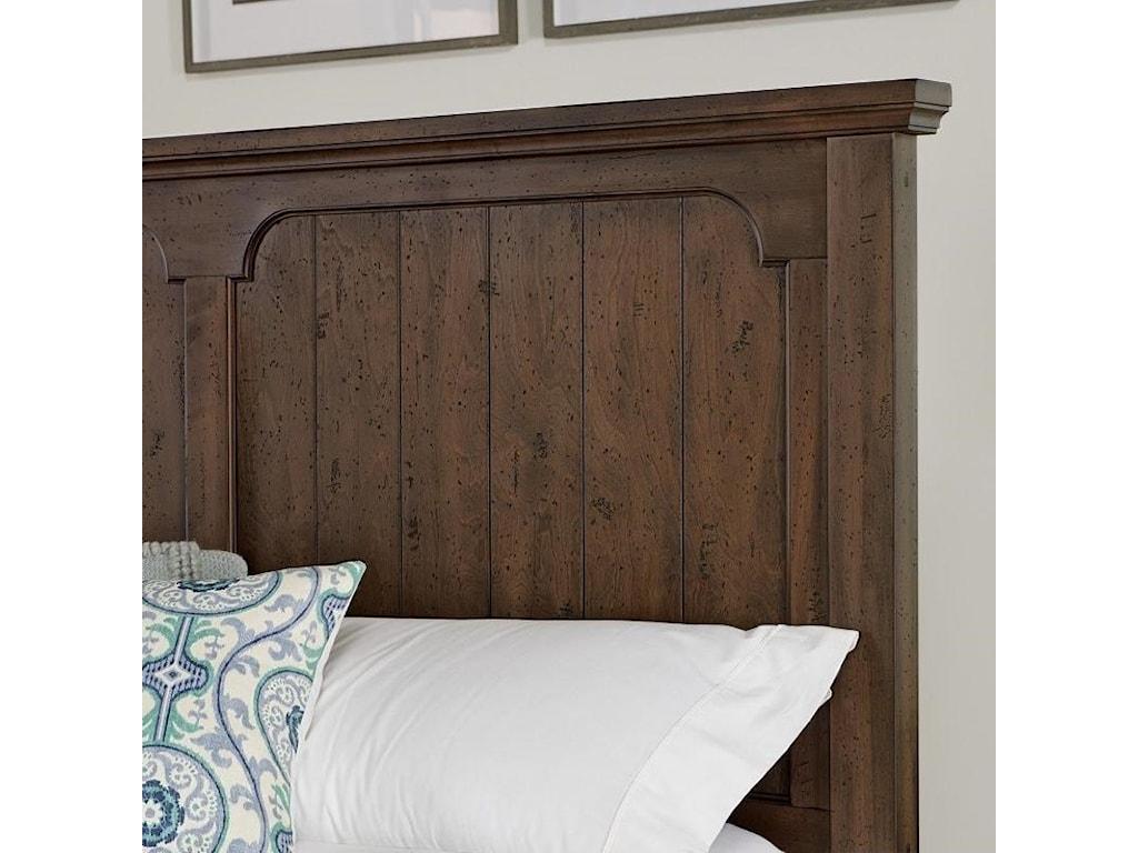 Vaughan Bassett Grayson ManorQueen Panel Bed