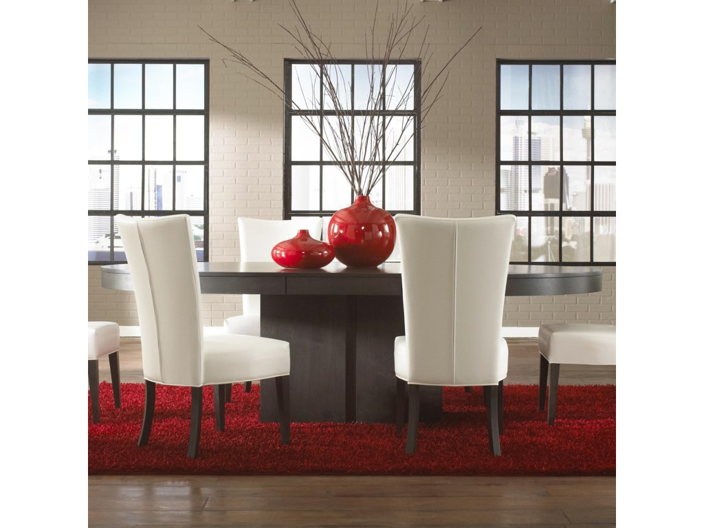 Canadel Custom Dining<b>Customizable</b> Oval Table with Pedestal