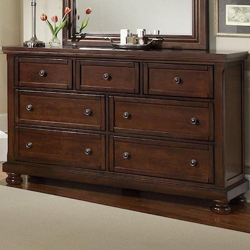 Vaughan Bett Reflections Triple Dresser 7 Drawers