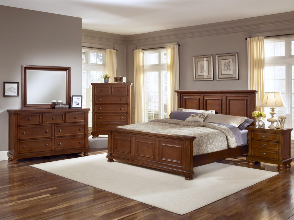 King Size Bed Shown. Full Size will have Two Panels instead of Three.