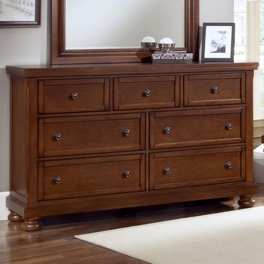 Vaughan Bassett ReflectionsTriple Dresser   7 Drawers ...