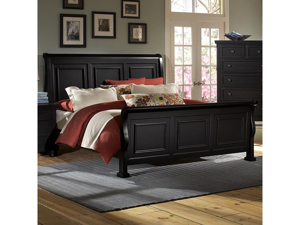 Vaughan Bassett ReflectionsQueen Sleigh Bed