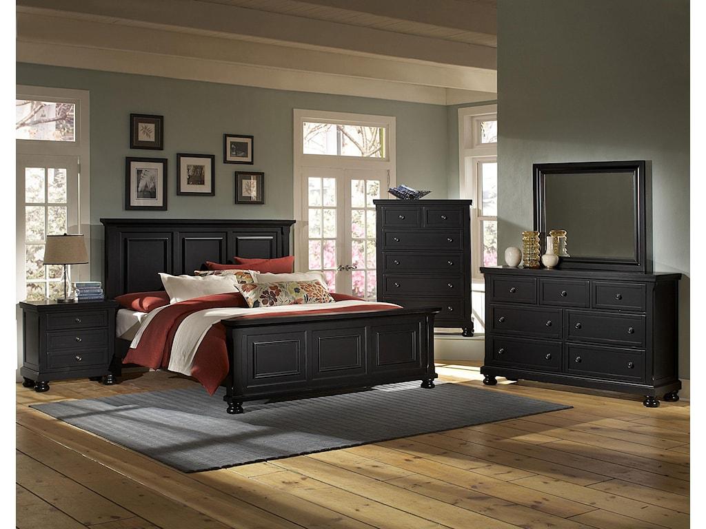 Vaughan Bassett ReflectionsFull Mansion Bed