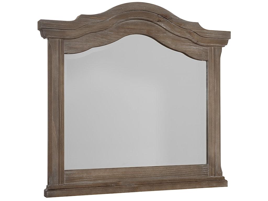 Vaughan Bassett HorizonArched Landscape Mirror