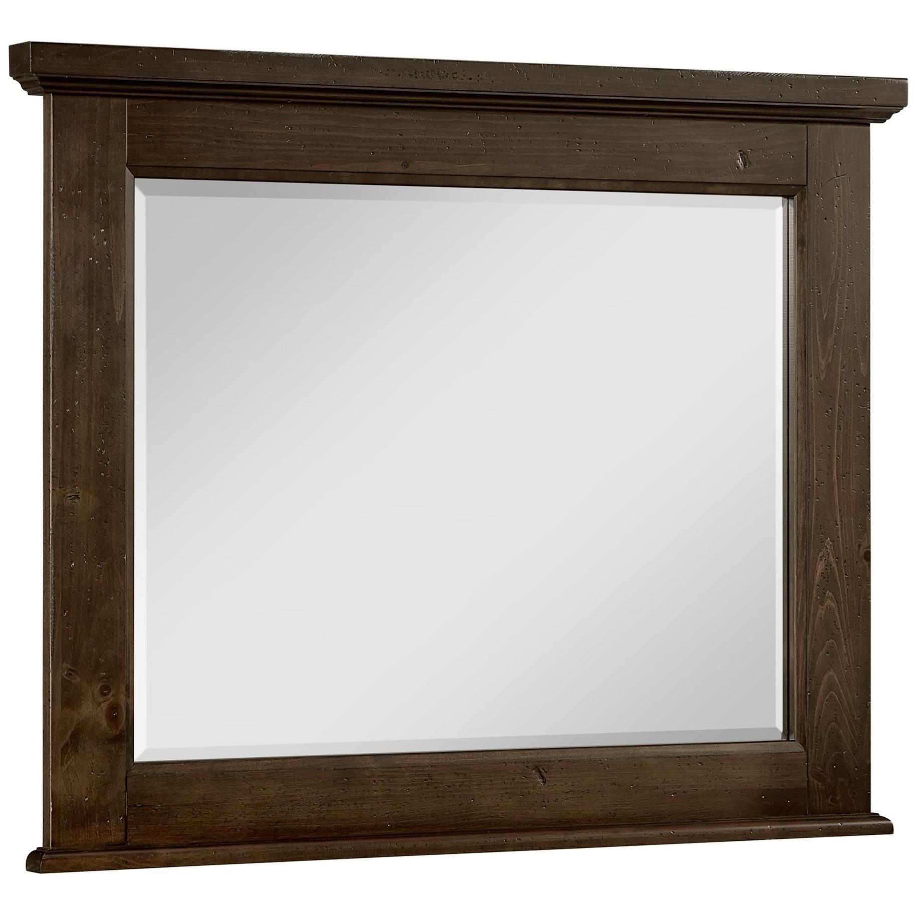 Home Bedroom Furniture Dresser Mirrors Vaughan Bassett Sawmill Dresser  Mirror. Vaughan Bassett SawmillDresser Mirror ...