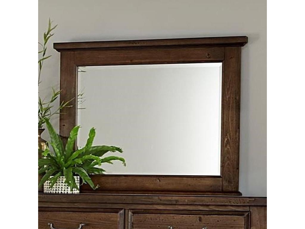 Vaughan Bassett SawmillDresser Mirror