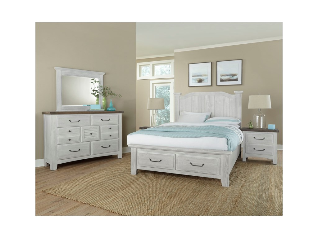 Vaughan Bassett SawmillQueen Bedroom Group