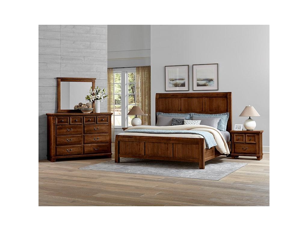 Vaughan Bassett Timber CreekQueen Bedroom Group
