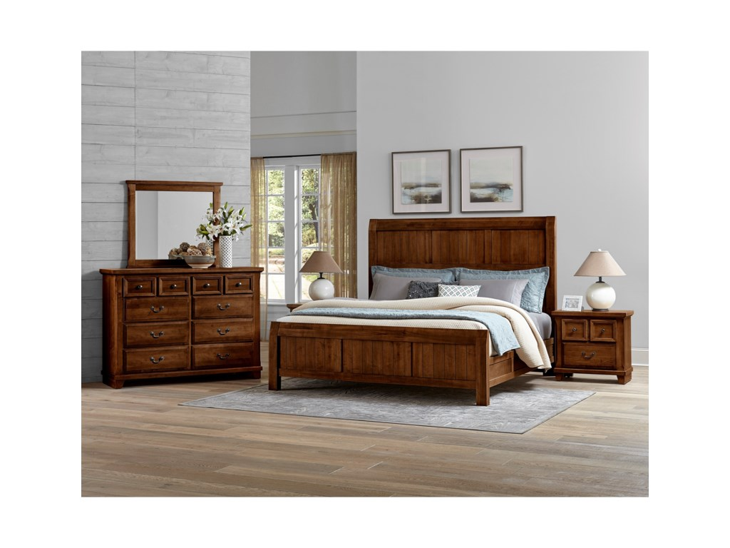 Vaughan Bassett Timber CreekQueen Bedroom Group
