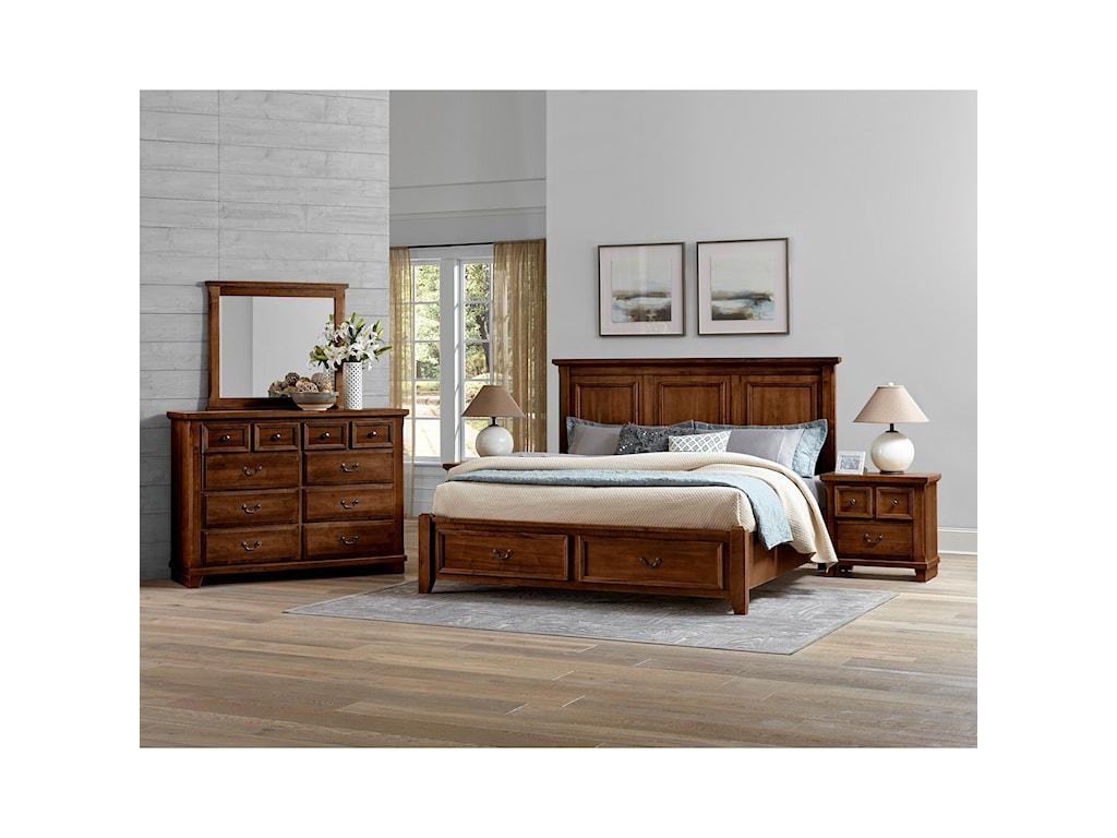 Vaughan Bassett Timber CreekKing Bedroom Group