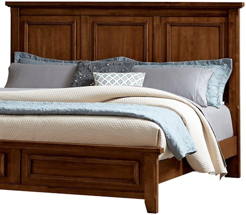 Vaughan Bassett Timber Creek Queen Mansion Headboard