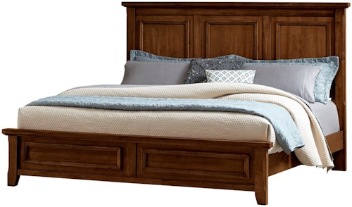 Vaughan Bassett Timber Creek King Mansion Bed