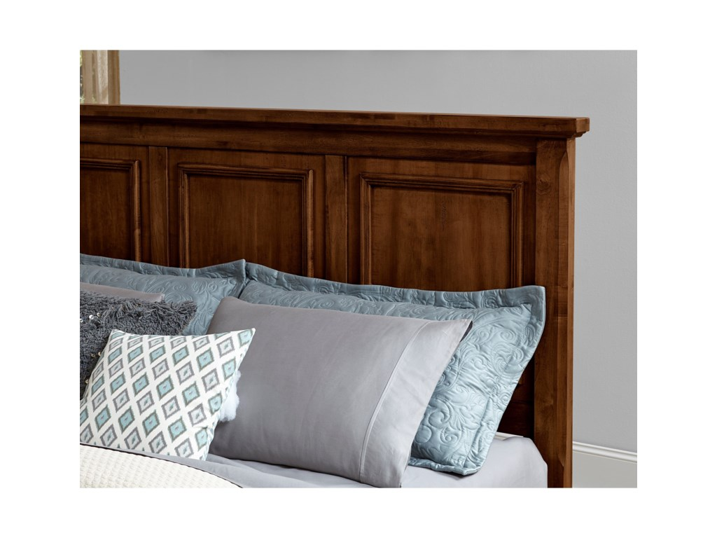 Vaughan Bassett Timber CreekKing Mansion Bed