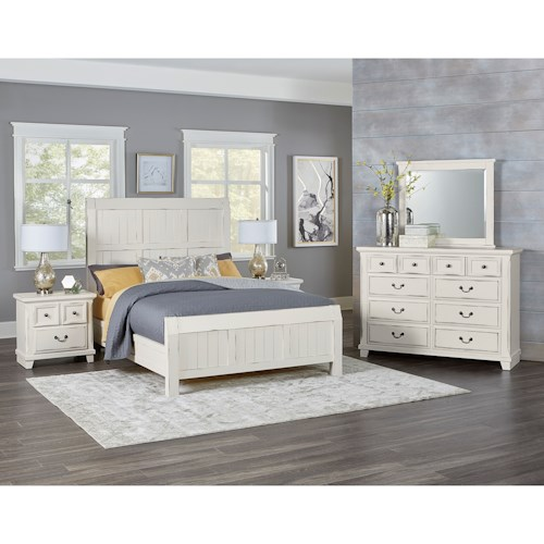 Vaughan Bassett Timber Creek Queen Bedroom Group