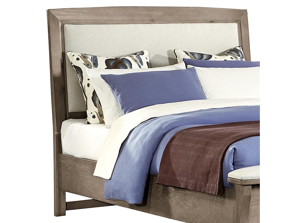 Vaughan Bassett TransitionsFull/Queen Upholstered Headboard (Linen)