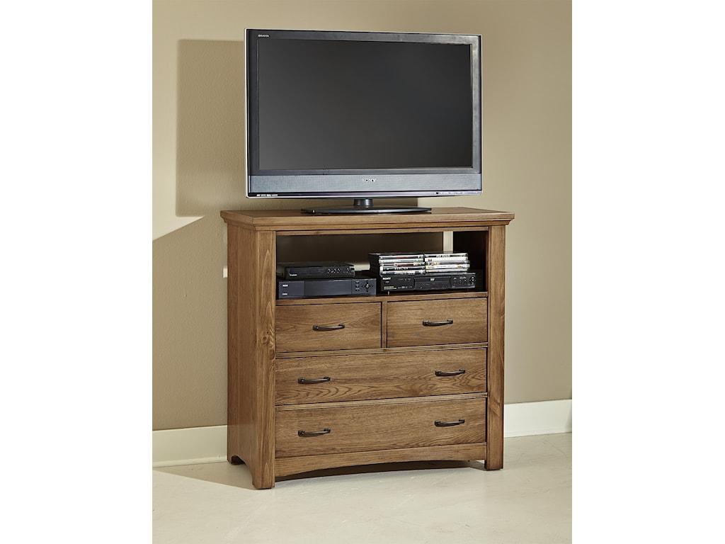 Vaughan Bassett TransitionsMedia Chest - 4 drawers