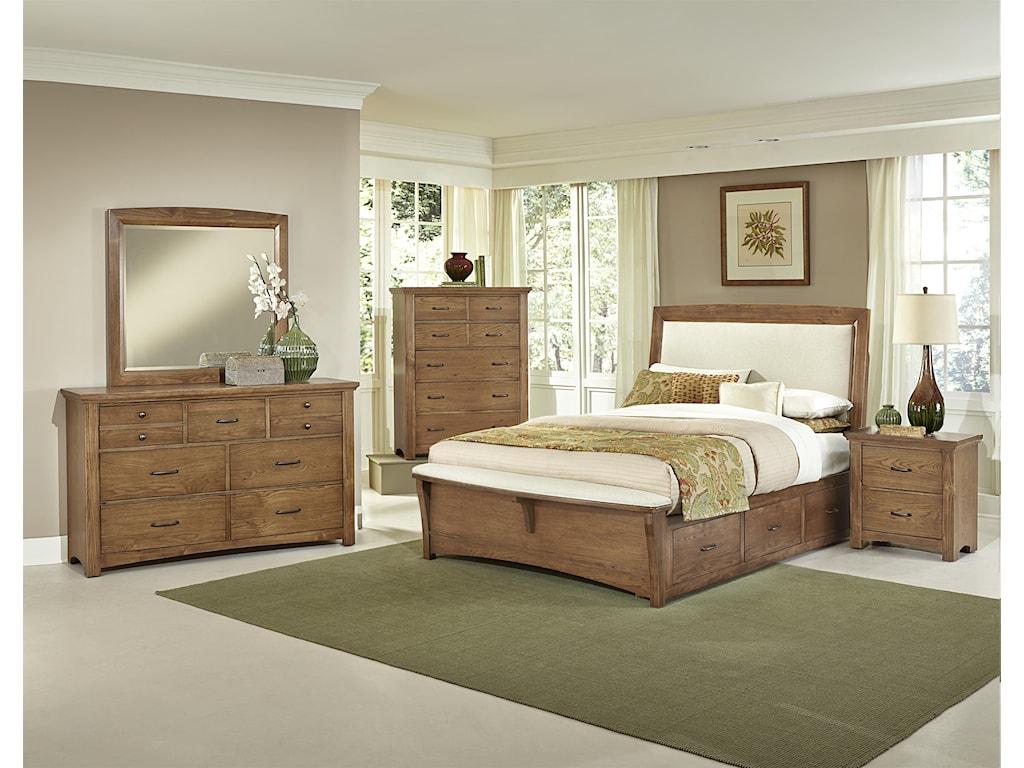 Vaughan Bassett TransitionsNight Stand - 2 drawers