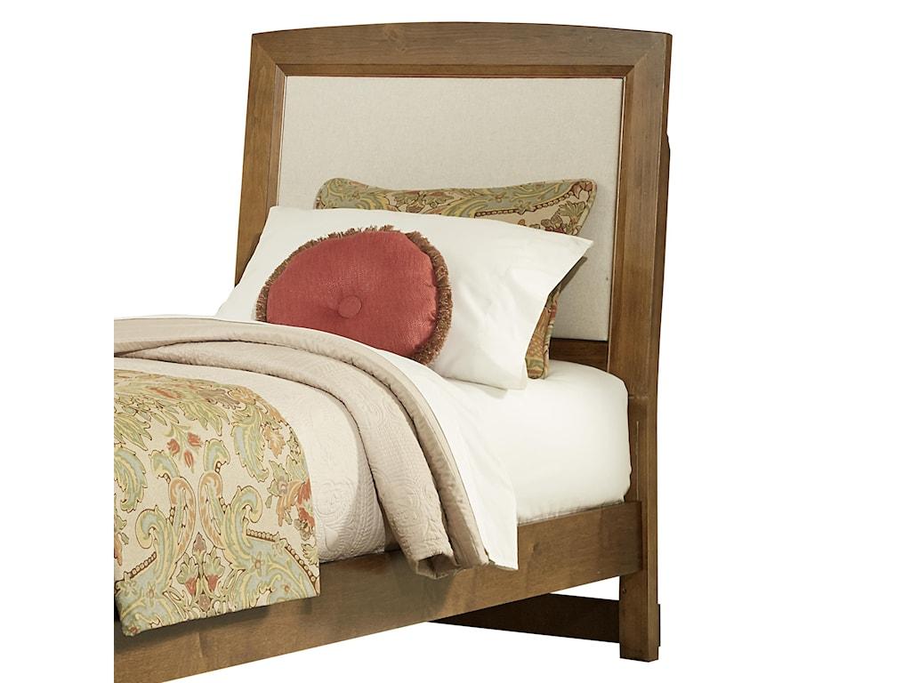 Vaughan Bassett TransitionsTwin Upholstered Headboard, Base Cloth Linen