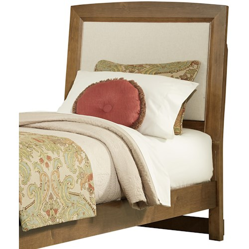 Vaughan Bassett Transitions Twin Upholstered Headboard Base Cloth - Comfortable-upholstered-headboard