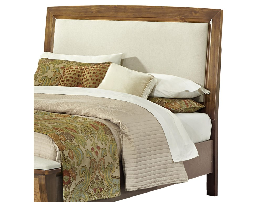 Vaughan Bassett TransitionsFull/Queen Upholstered Headboard (Linen)