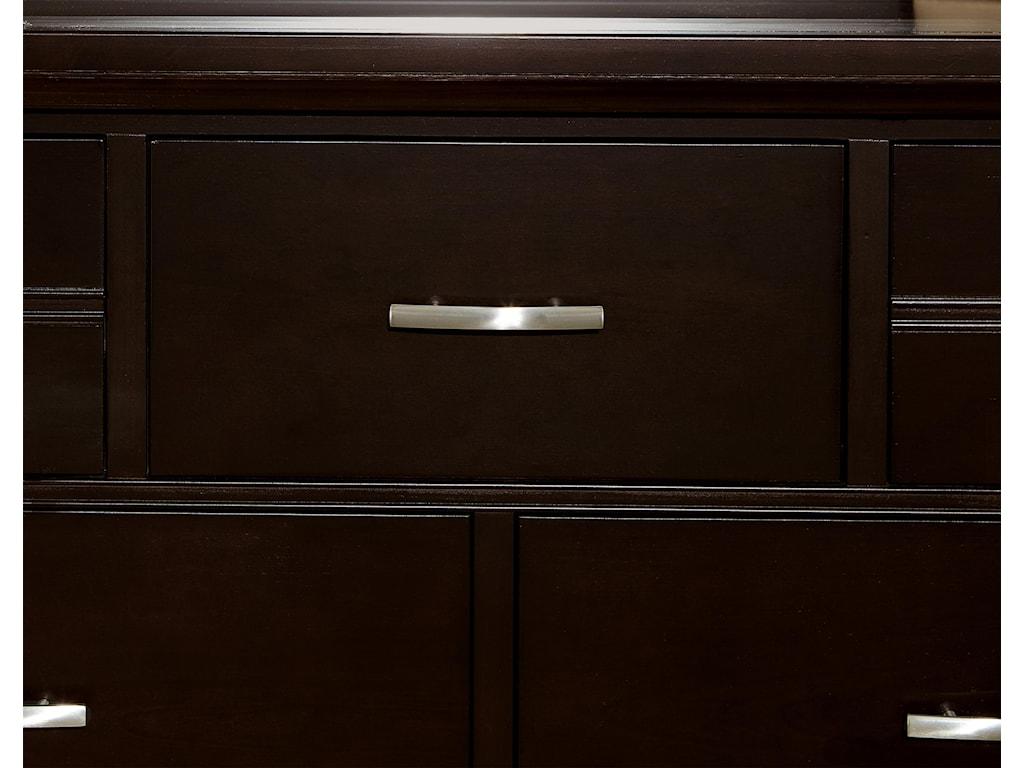 Vaughan Bassett TransitionsDresser - 7 drawers