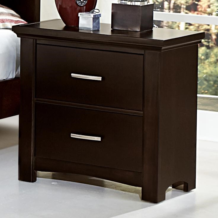 Vaughan Bassett TransitionsNight Stand - 2 drawers