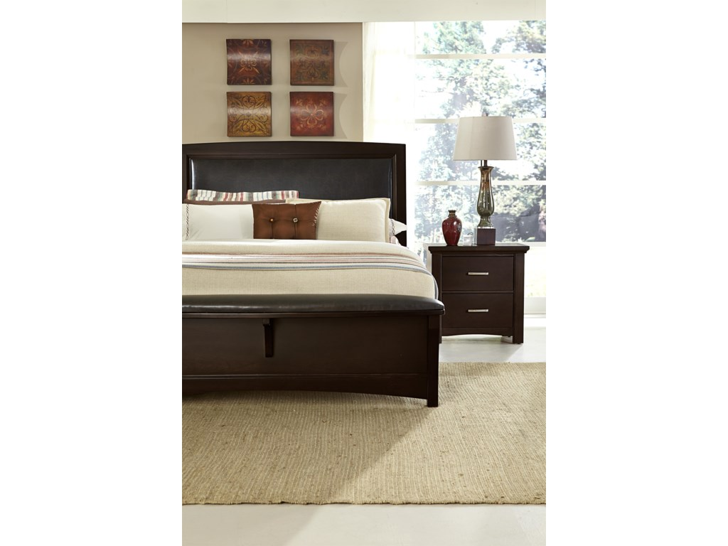Vaughan Bassett TransitionsQueen Panel Bed