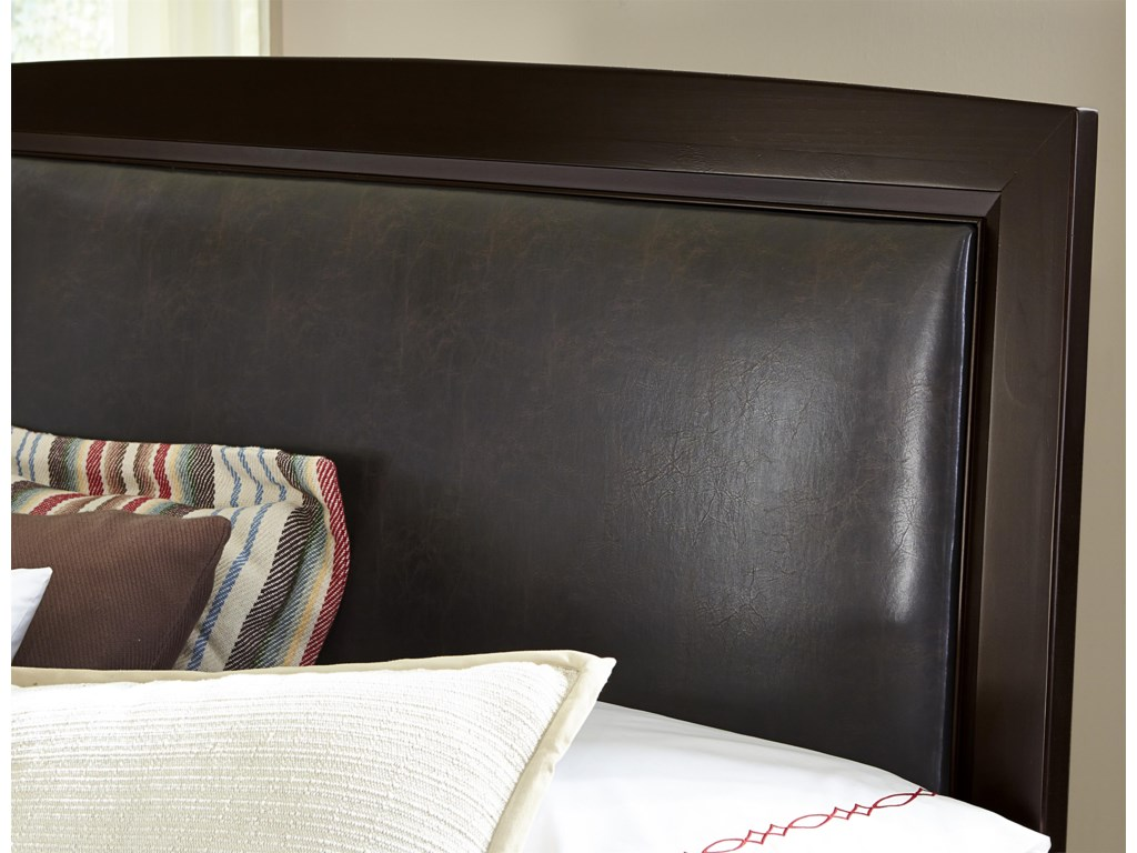 Vaughan Bassett TransitionsFull Uph. Headboard (Bonded Leather)