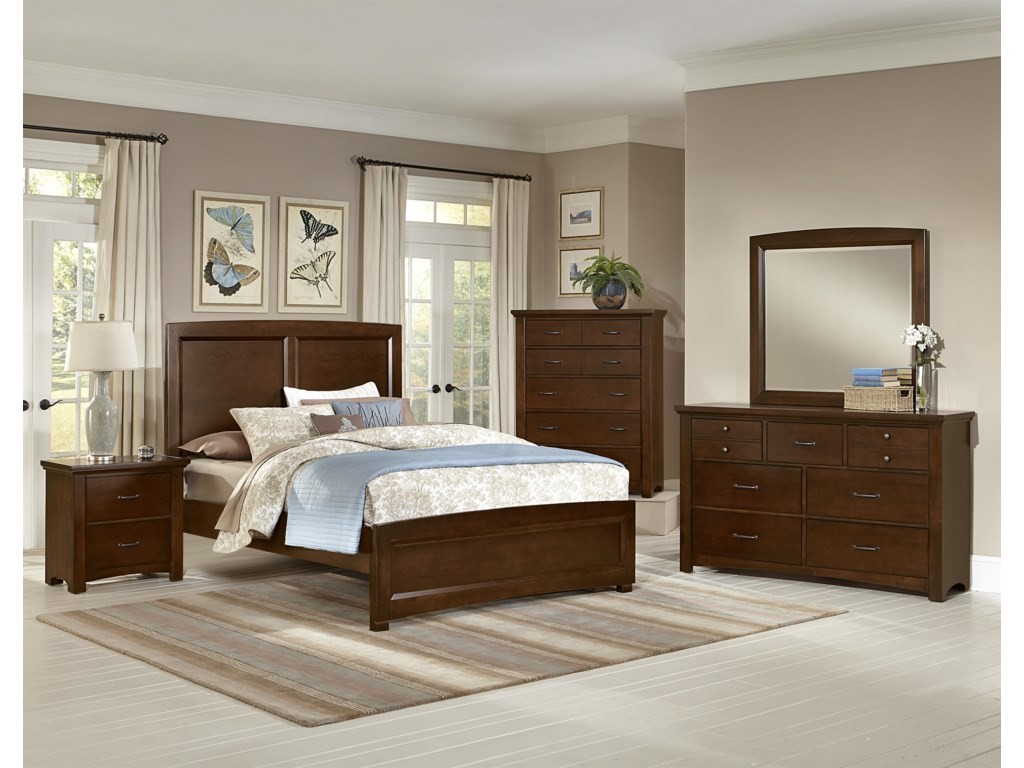 Vaughan Bassett TransitionsQueen Bedroom Group