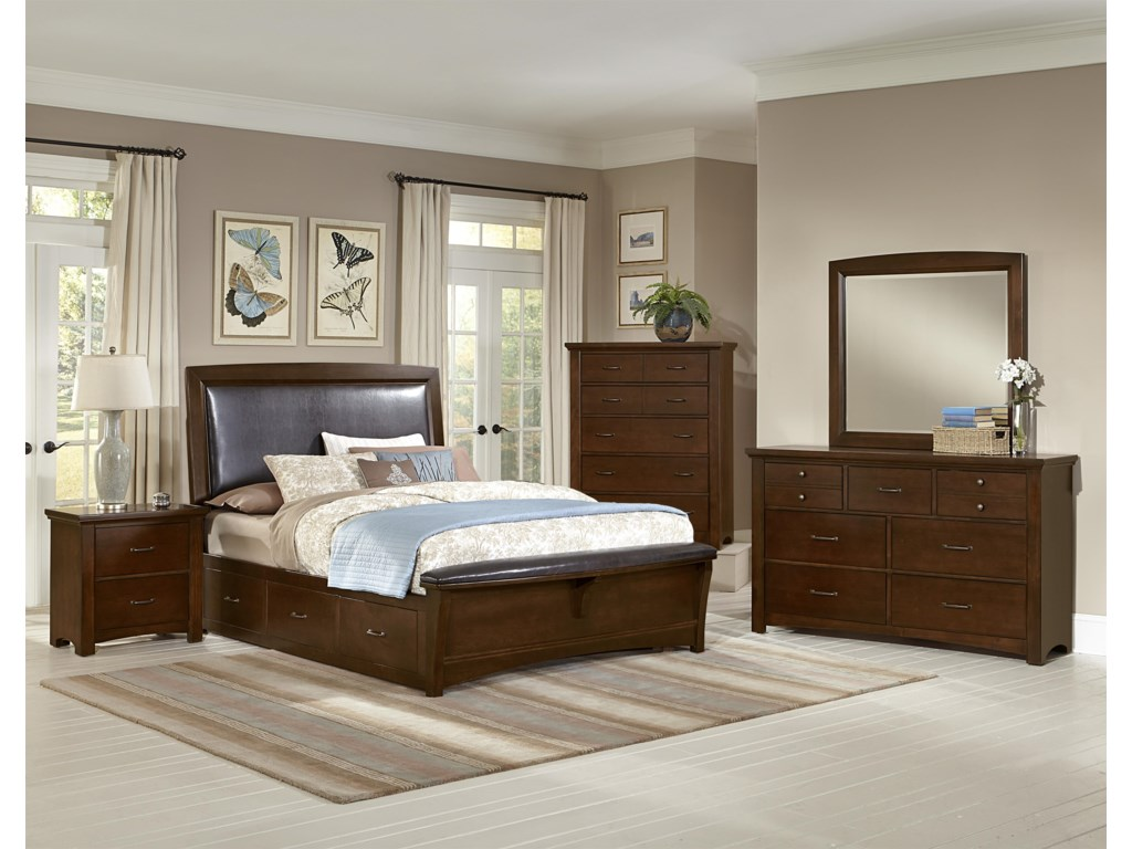 Vaughan Bassett TransitionsKing Bedroom Group