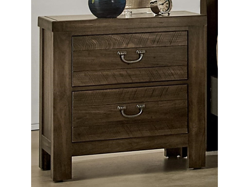 Vaughan Bassett Urban Crossings2 Drawer Nightstand