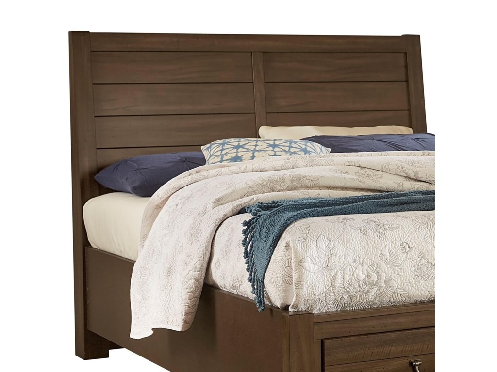 Vaughan Bassett Urban CrossingsQueen Plank Headboard
