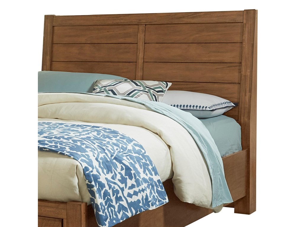 Vaughan Bassett Urban CrossingsKing Plank Headboard