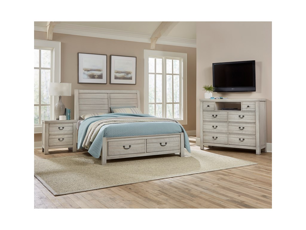 Vaughan Bassett Urban CrossingsQueen Bedroom Group