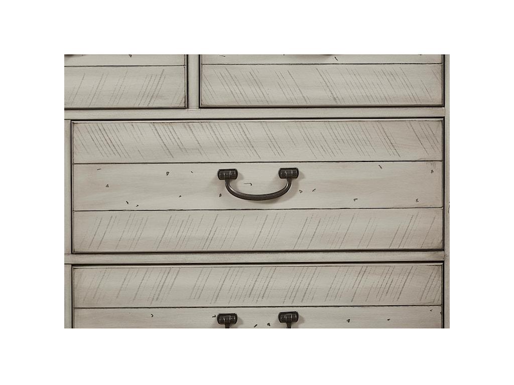 Vaughan Bassett Urban Crossings7 Drawer Dresser
