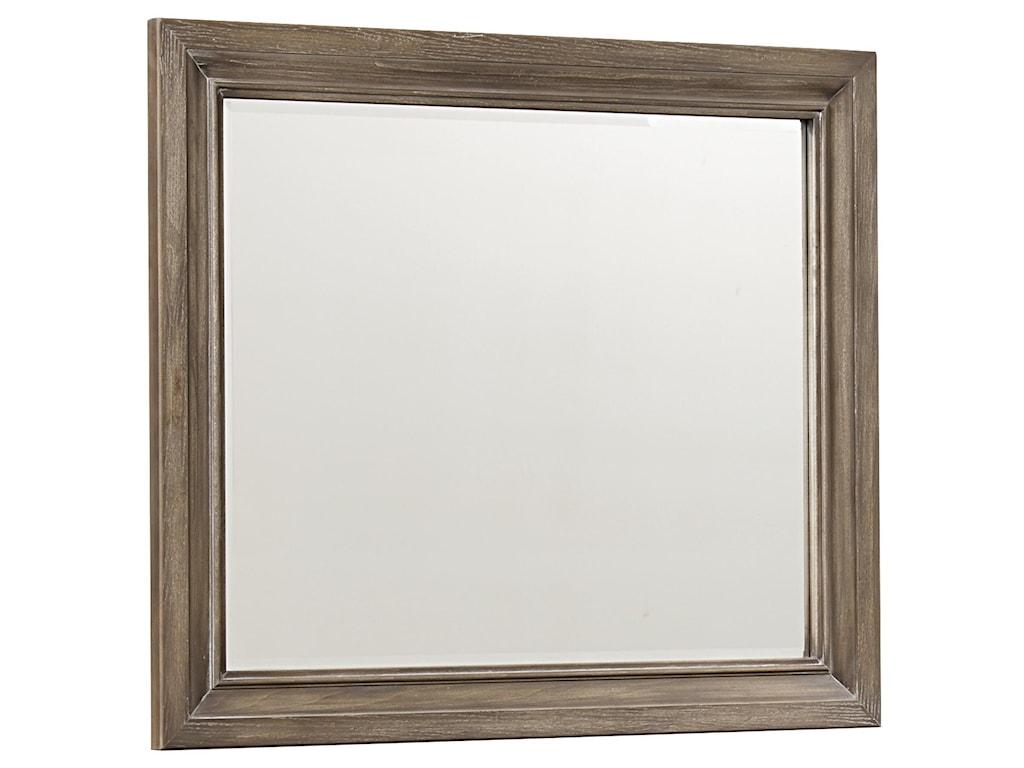Vaughan Bassett Whiskey BarrelLandscape Mirror