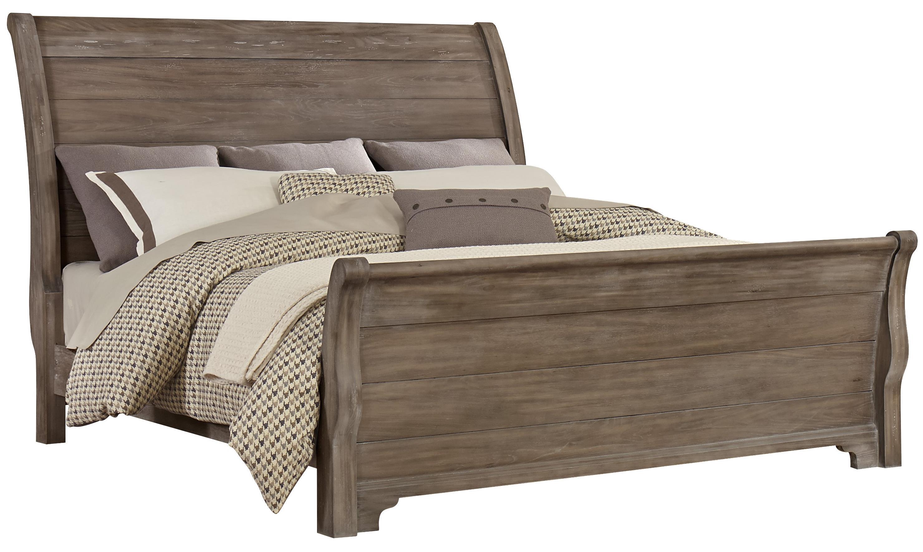 Virginia House Whiskey BarrelQueen Sleigh Bed