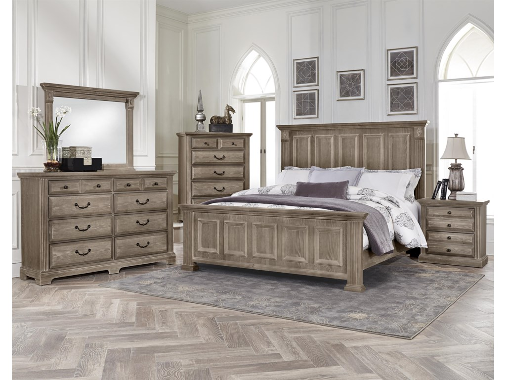 Vaughan Bassett WoodlandsTriple Dresser - 8 drawers