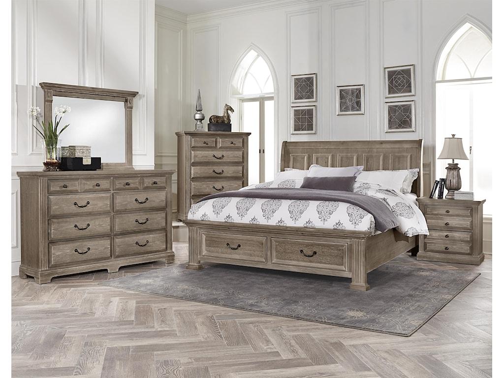 Vaughan Bassett WoodlandsNight Stand - 2 drawers