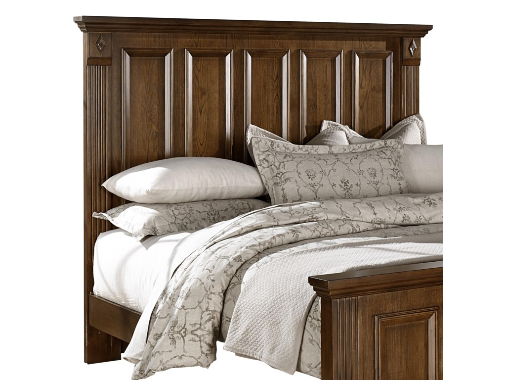 Vaughan Bassett WoodlandsKing Mansion Headboard