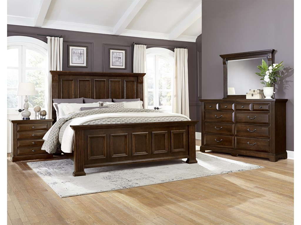 Vaughan Bassett WoodlandsQueen Bedroom Group
