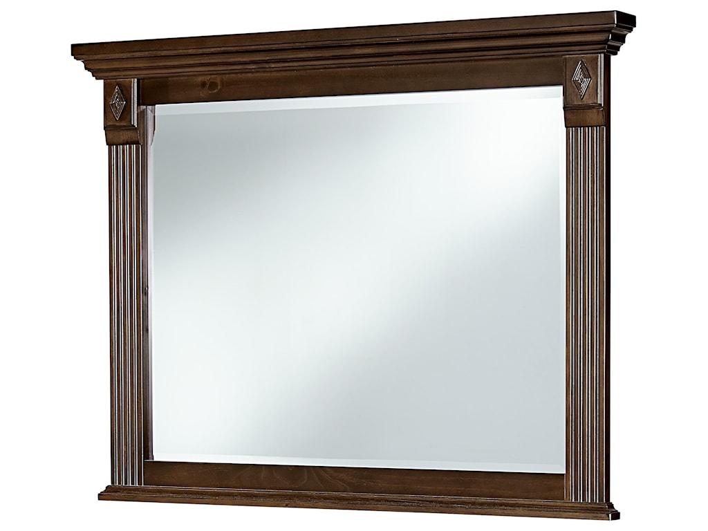 Vaughan Bassett WoodlandsLandscape Mirror
