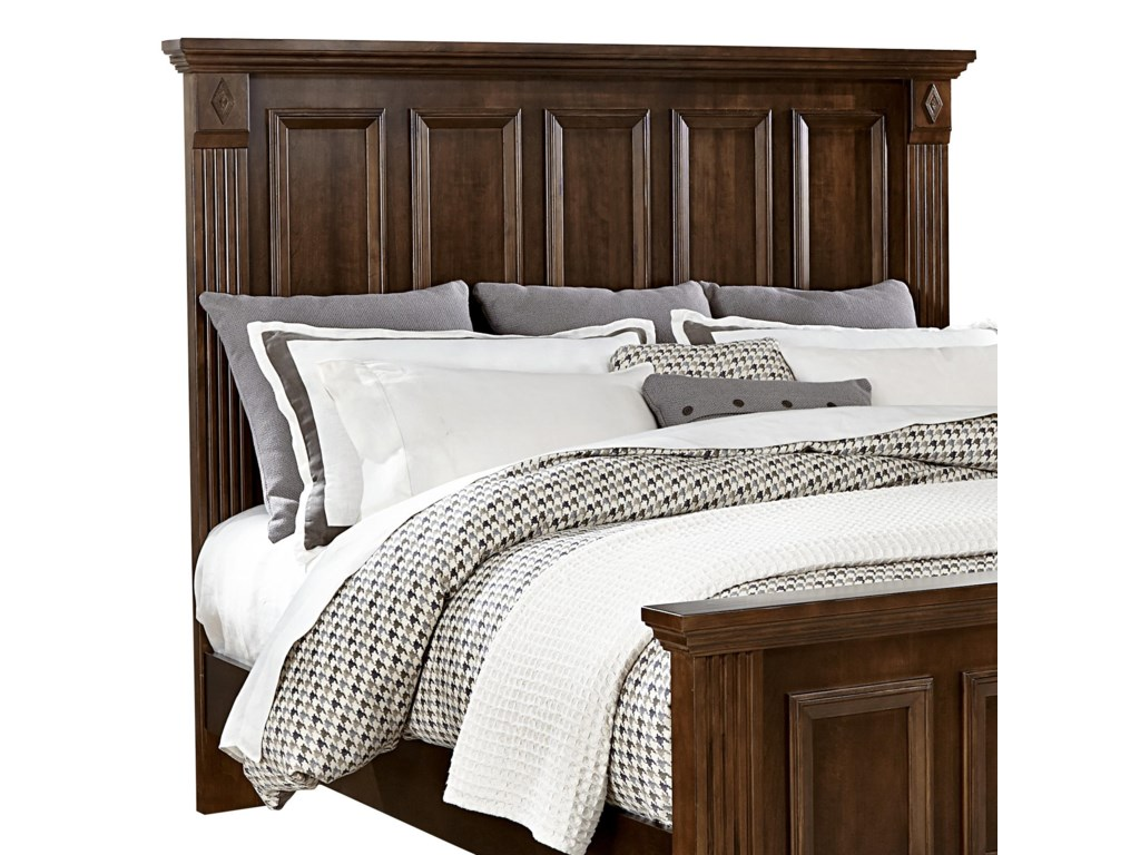 Vaughan Bassett WoodlandsQueen Mansion Headboard