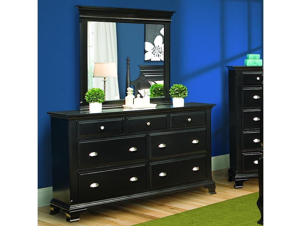 Vaughan Furniture Chelsea Dresser & Mirror