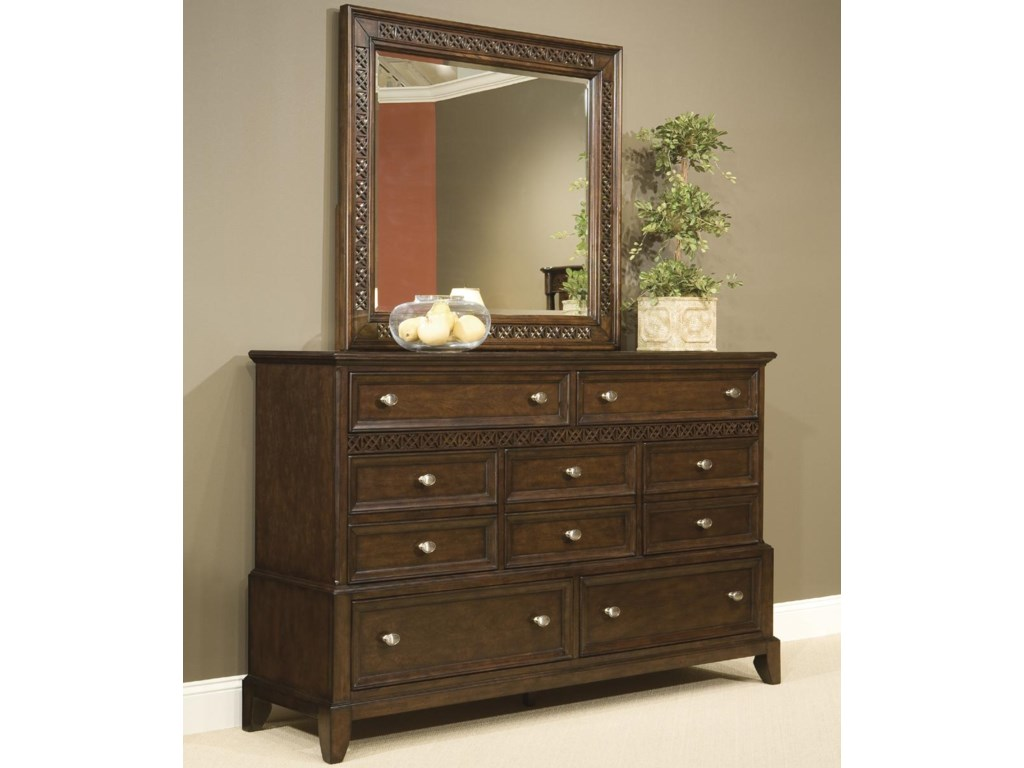 Vaughan Furniture Jackson SquareDresser with 7 Drawers