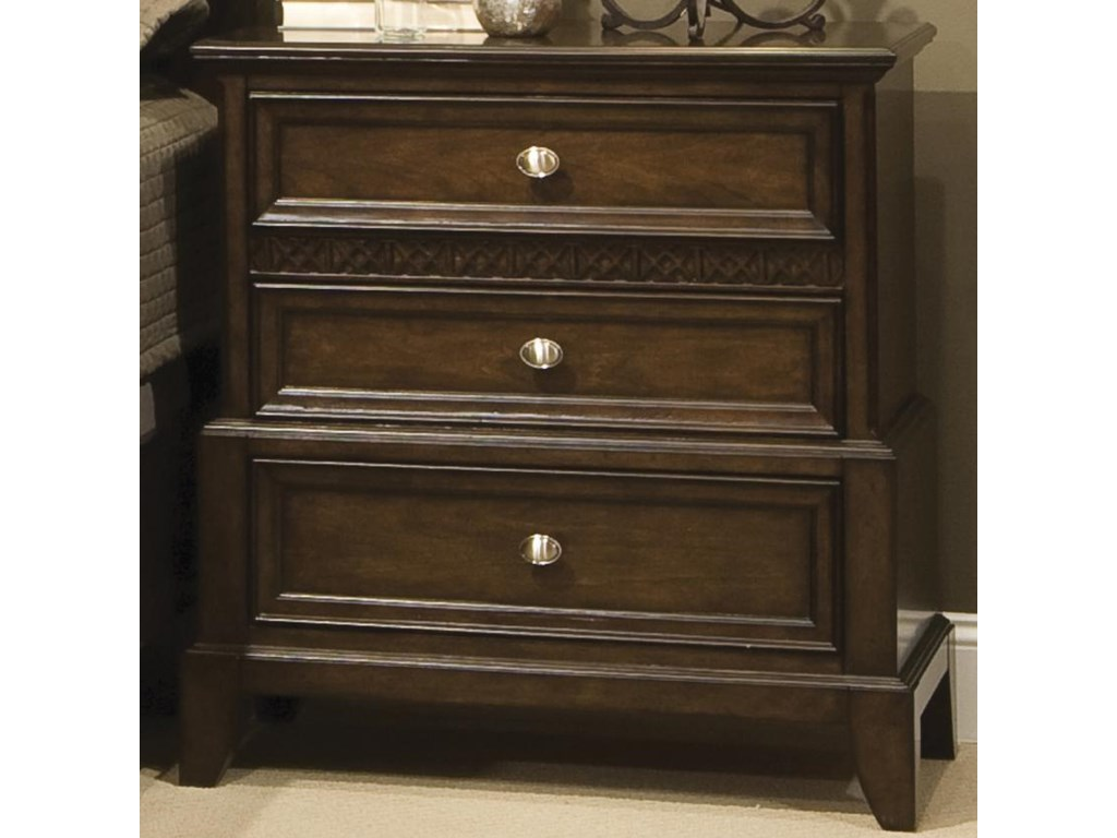 Vaughan Furniture Jackson SquareNightstand with 3 Drawers